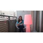 lampe à led sans fil rechargeable rvb extérieur pour terrasses balcons lola 110 vendue se deco-lumineuse.fr