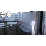 lampe à led sans fil rechargeable ext pour terrasses balcon lola 110 vendue se deco-lumineuse.fr