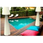 lampe sans fil rechargeable extérieure piscine lola 165 cm vendue sur deco-lumineuse.fr