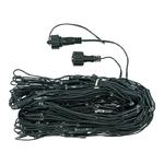 filet lumineux exterieur hauteur cable vert 1 M largeur 4 M 240 leds blanc chaud vendu sur deco-lumineuse.fr
