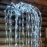 branche led saule pleureur 200 cm 736 led blanc froid vendue sur deco-lumineuse.fr