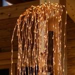 branche lumineuse saule pleureur cuivre 200 cm 736 led blanc chaud vendue sur deco-lumineuse.fr