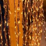 branche lumineuse led saule pleureur cuivre 200 cm 736 leds blanc chaud vendue sur deco-lumineuse.fr
