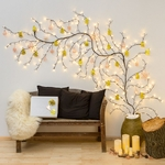 branches lumineuse led noël 3M 288 led blanc chaud vendue sur deco-lumineuse.fr