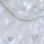 branche lumineuse led souple blanche de noël 3M 288 led blanc froid vendue sur deco-lumineuse.fr