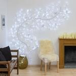 branche lumineuse souple blanche de noël 3M 288 led blanc froid vendue sur deco-lumineuse.fr
