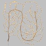 branches lumineuses led de noël cuivre 3M 288 led blanc chaud vendue sur deco-lumineuse.fr