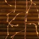 branches lumineuse led de noël cuivre 3M 288 led blanc chaud vendue sur deco-lumineuse.fr