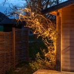 branche lumineuse led de noël cuivre 3M 288 leds blanc chaud vendue sur deco-lumineuse.fr