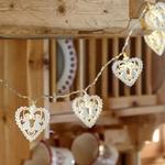guirlande lumineuse led blanche 10 coeurs et anges vendue sur deco-lumineuse.fr