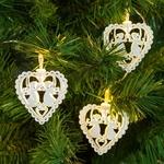 guirlande lumineuse led blanche coeurs et anges vendue sur deco-lumineuse.fr