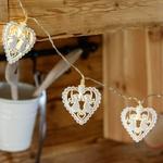 guirlande lumineuse led coeurs et anges vendue sur deco-lumineuse.fr