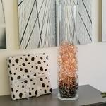 guirlande led cuivre 10 diamants led blanc chaud vendue sur deco-lumineuse.fr
