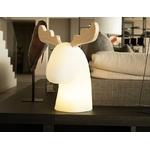 tete de renne led lumineuse Danser sans fil rvb vendu sur deco-lumineuse.fr