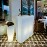 bar lumineux led design interieur ou exterieur CRETA vendus sur deco-lumineuse.fr