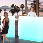 bar lumineux led design exterieur ou interieur sicilia 120 vendu sur deco-lumineuse.fr