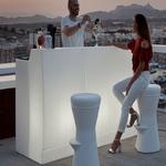 bar lumineux design pour exterieur ou interieur sicilia 120 vendu sur deco-lumineuse.fr