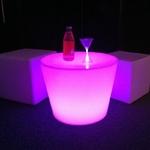table basse lumineuse led rvb sans fil yoan vendu sur www.deco-lumineuse.fr