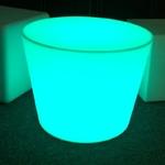 table basse rvb lumineuse led sans fil yoan vendu sur www.deco-lumineuse.fr