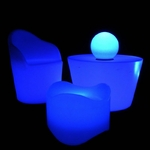 table basse lumineuse led sans fil exterieur rebecca vendu sur www.deco-lumineuse.fr