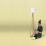 lampadaire design rvb sans fil rechargeable chloe 140 vendu sur deco-lumineuse.fr