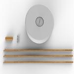 lampadaire rvb sans fil rechargeable design chloe 140 vendu sur deco-lumineuse.fr