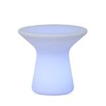 table basse lumineuse led design sans fil rvb exterieur capri75 vendue sur deco-lumineuse.fr