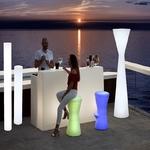 tabouret lumineux led sans fil pour bar corfu 74 vendu sur deco-lumineuse.fr