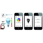 ampoule led rvb controle smartphone