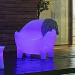 fauteuil led lumineux sans fil extérieur vendu sur deco-lumineuse.fr