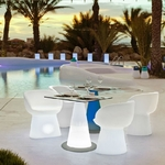 table lumineuse led sans fil extérieure itaca vendue sur deco-lumineuse