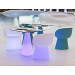 table lumineuse led rvb extérieure sans fil itaca vendue sur deco-lumineuse.fr