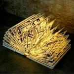 lampe led sans fil livre-lumineux-iron-man-marvel vendu sur deco-lumineuse.fr