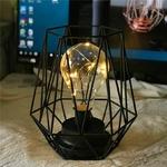 lampe led sans fil cage ampoule vendue sur deco-lumineuse.fr