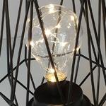lampe led design sans fil cage ampoule vendue sur deco-lumineuse.fr