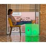 cube lumineux led 43 sans fil haut parleur vendu sur deco-lumineuse.fr