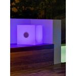 cube lumineux led exterieur 43 sans fil haut parleur vendu sur deco-lumineuse.fr