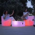 fauteuil led lumineux extérieur solaire tarido vendu sur deco-lumineuse.fr
