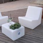 fauteuil led lumineux extérieur sans fil solaire tarido vendu sur deco-lumineuse.fr