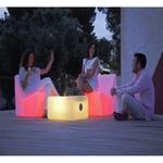 table basse lumineuse sans fil led exterieur light and play vendu sur deco-lumineuse.fr