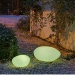 galet lumineux sans fil solaire extérieur petra 60 vendu sur deco-lumineuse.fr
