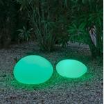galet lumineux led sans fil solaire petra 60 vendu sur deco-lumineuse.fr