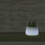 pot lumineux led exterieur pour jardin amelia 80 vendu sur deco-lumineuse.fr