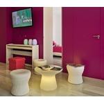 table basse led lumineuse sans fil extérieur design capri 40 vendue su deco-lumineuse.fr