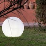 boule lumineuse sans fil extérieur multicolore bubble 80 vendue sur deco-lumineuse.fr