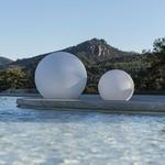 boule led sans fil extérieur solaire multicolore bubble 80 vendue sur deco-lumineuse.fr