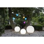 boule led solaire sans fil extérieur multicolore bubble 80 vendue sur deco-lumineuse.fr