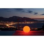 boule led sans fil extérieur rvb solaire multicolore bubbly 60 vendue sur deco-lumineuse.fr