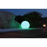 boule led rvb sans fil solaire extérieure bubbly 60 vendue sur deco-lumineuse.fr