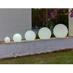 boule lumineuse led sans fil extérieur solaire bubbly 60 vendue sur deco-lumineuse.fr